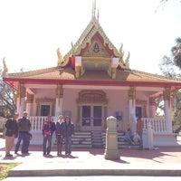 Photo taken at Wat Mongkolratanaram Buddhist Temple by Shay T. on 3/3/2013