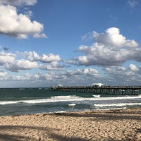 Photo taken at Lauderdale-By-The-Sea by Martina S. on 3/4/2017