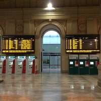 Photo taken at Stazione Trieste Centrale by Carlo F. on 1/23/2013
