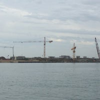 Photo taken at Cantiere Isola Artificiale MOSE by Carlo F. on 9/27/2012