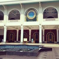 Photo taken at Masjid Nasional Al-Akbar by Shandy W. on 1/4/2014