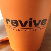 Photo taken at Revive Cafe by Donovan M. on 4/14/2013