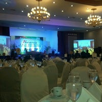 Photo taken at Centennial Hall (Manila Hotel) by Nolie B. on 3/21/2013
