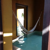 Photo taken at Hacienda Puerta Campeche by JOY J. on 6/6/2013