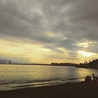9/6/2015 tarihinde SEYONG P.ziyaretçi tarafından Playa de Baños del Carmen'de çekilen fotoğraf