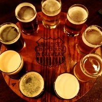 Photo taken at District Chophouse & Brewery by ✌Maryanne D. on 9/26/2012