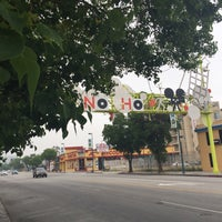 Photo taken at NoHo Sign by Danielle L. on 5/5/2017