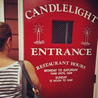 Photo taken at Candlelight Inn by Adam S. on 6/26/2013