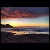 Photo taken at Pacifica State Beach by Zoe T. on 10/1/2013