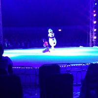 Photo taken at Circo Oddisey On Ice by Claudia C. on 7/7/2015