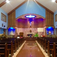 Photo taken at Parish Of Our Lord's Ascension by ijdThemedina on 12/20/2015