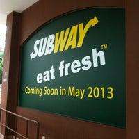 Photo taken at Subway by Artisan B. on 4/6/2013