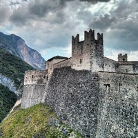 Photo taken at Castel Beseno by Michael B. on 6/23/2013