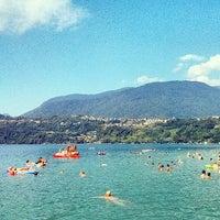 Photo taken at Lago di Caldonazzo by Michael B. on 7/28/2013