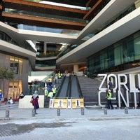 Photo taken at Zorlu Center Şantiyesi by Özde Y. on 9/25/2013
