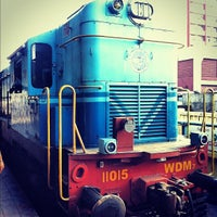 Photo taken at Chennai Central Sub Urban Station by Sam T. on 10/22/2012