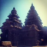 Photo taken at Shore Temple by Sam T. on 10/4/2012