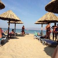 Photo taken at Santa Maria Beach by Ginaa 👄 M. on 8/27/2013