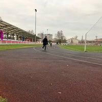 Снимок сделан в Стадион «Торпедо» пользователем Maria K. 11/5/2017