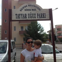 Photo taken at Tayyar Uğuz Parkı by Esna U. on 10/1/2013
