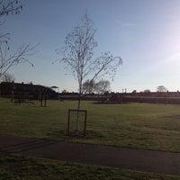 Photo taken at Cheriton Recreation Ground by Jennie C. on 5/1/2013