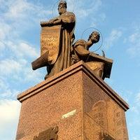 Photo taken at Памятник Апостолам Марку и Матфею by Анатолий Э. on 7/18/2013