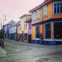 Photo taken at Øvre Holmegate by Stefano P. on 5/8/2014