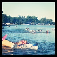 Photo taken at Riverfront Park by Brittney S. on 7/24/2014