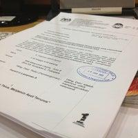 Photo taken at Kementerian Pendidikan Malaysia (KPM) by Badrulhafiz S. on 2/4/2013