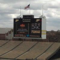 Photo taken at Ross-Ade Stadium by Kris R. on 4/13/2013