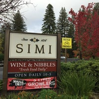 Photo taken at Simi Winery by Eiji K. on 11/29/2014