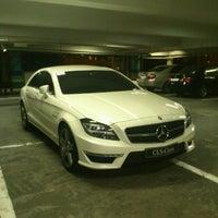 Photo taken at Greenbelt 1 Parking by Kurt U. on 11/27/2012