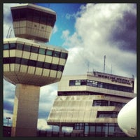 Photo taken at Berlin Tegel Otto Lilienthal Airport (TXL) by Elena P. on 5/27/2013