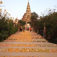 Photo taken at Wat Phra That Pha Son Kaew by Kajumkajim N. on 1/16/2013