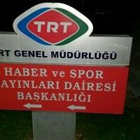 Photo taken at TRT Haber Ve Spor Dairesi Başkanlığı by Müçteba C. on 6/21/2016