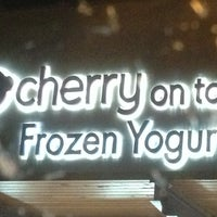 Photo taken at Cherry On Top Frozen Yogurt - Scottsdale by Lauren N. on 10/29/2013