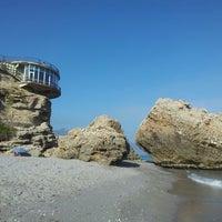Photo taken at El Salón Beach by Emil V. on 6/20/2013