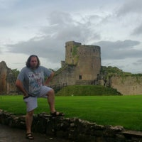 Photo taken at Caldicot Castle by Llewelyn S. on 10/17/2013