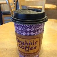 Photo taken at Organic Coffee Co. by Yoko M. on 10/12/2012