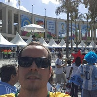Photo taken at Museu do Futebol by Joao C. on 7/13/2014