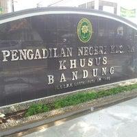 Photo taken at Pengadilan Negeri Bandung by Adhimulya N E. on 11/28/2015