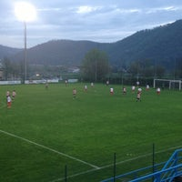 Photo taken at Campo Sportivo Comunale by Michele S. on 4/22/2013