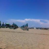 Photo taken at Divjak beach by Armando M. on 7/10/2013