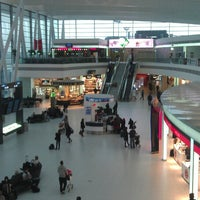 Photo taken at Budapest Liszt Ferenc International Airport (BUD) by [Zoky] on 4/5/2013
