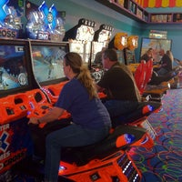 Photo taken at Big Top Arcade by Michelle O. on 5/19/2013