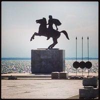 Photo taken at Άγαλμα Μεγάλου Αλεξάνδρου by Petya S. on 9/7/2013