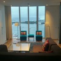 Photo taken at Lofoten Suite hotel by Nastja S. on 9/25/2016