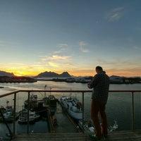 Photo taken at Lofoten Suite hotel by Nastja S. on 9/26/2016