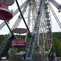 Photo taken at Knoebels Amusement Resort by Esat T. on 5/19/2013