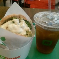 Photo taken at Maoz Vegetarian by Jacquie L. on 4/29/2013